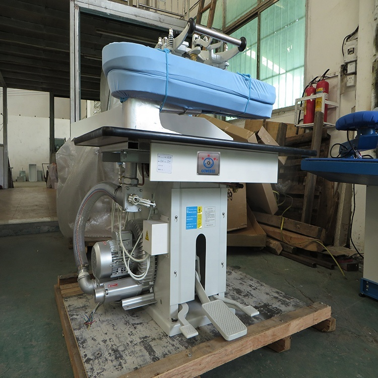 WJ type laundry press,laundry ironing steam press machine