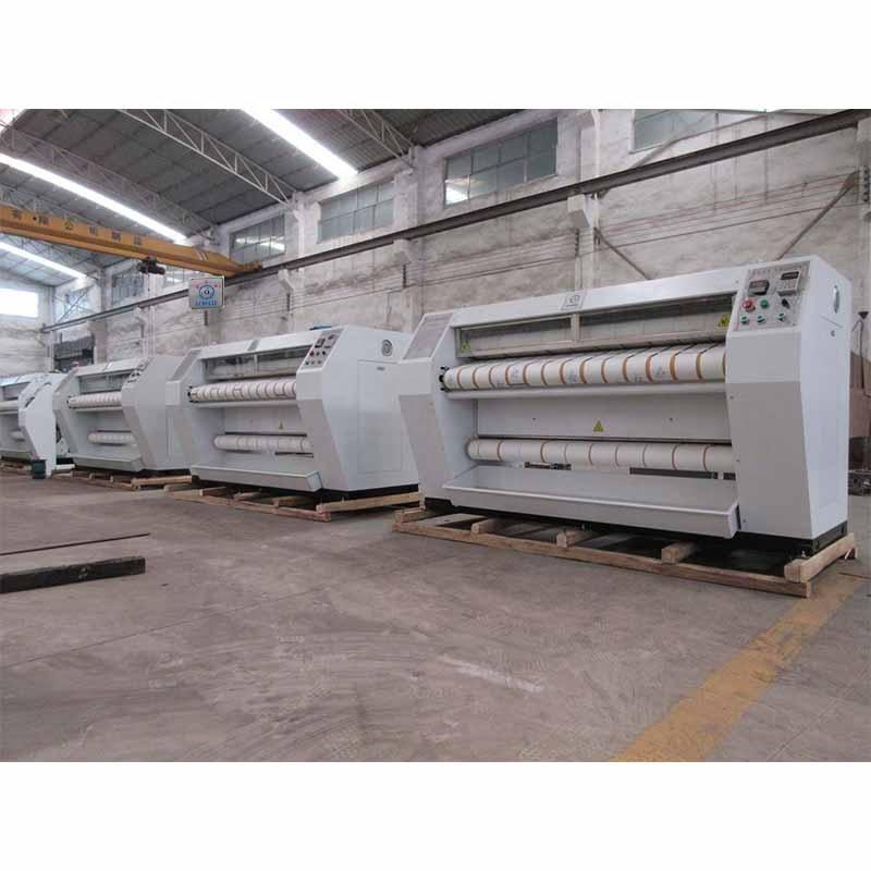 3meter chest heated big capacity flatwork ironer machine
