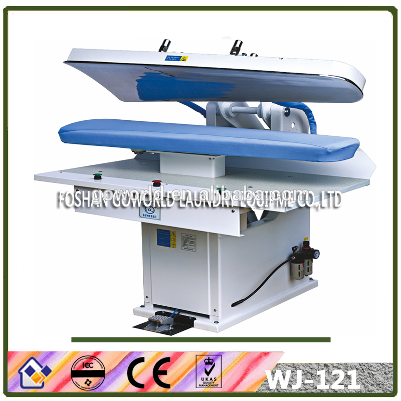 WJ-121 industrial washing machinery-laundry press for cloth