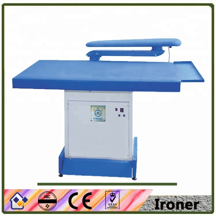 laundry machine-manual control steam press machine