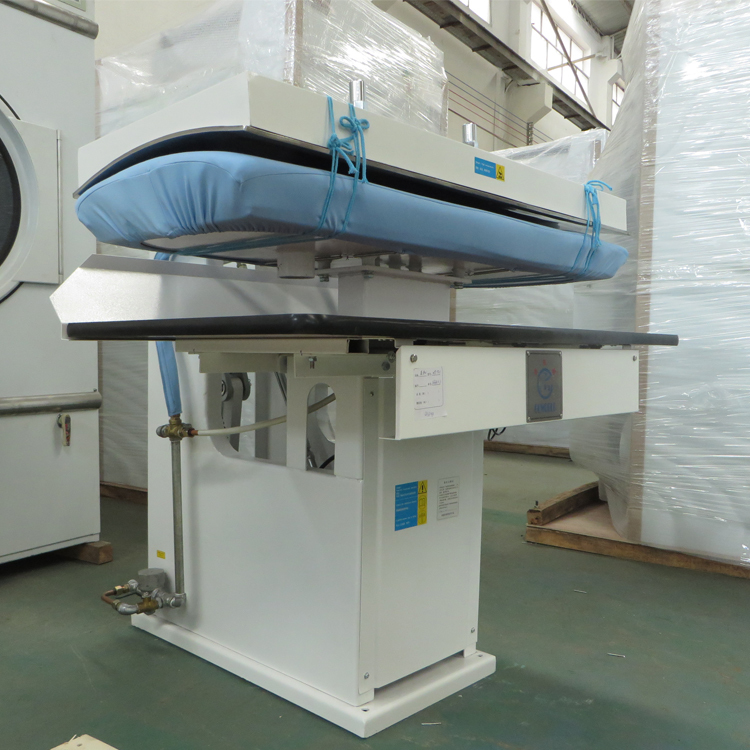 Pneumatic control laundry press industrial washing machine laundry machinery