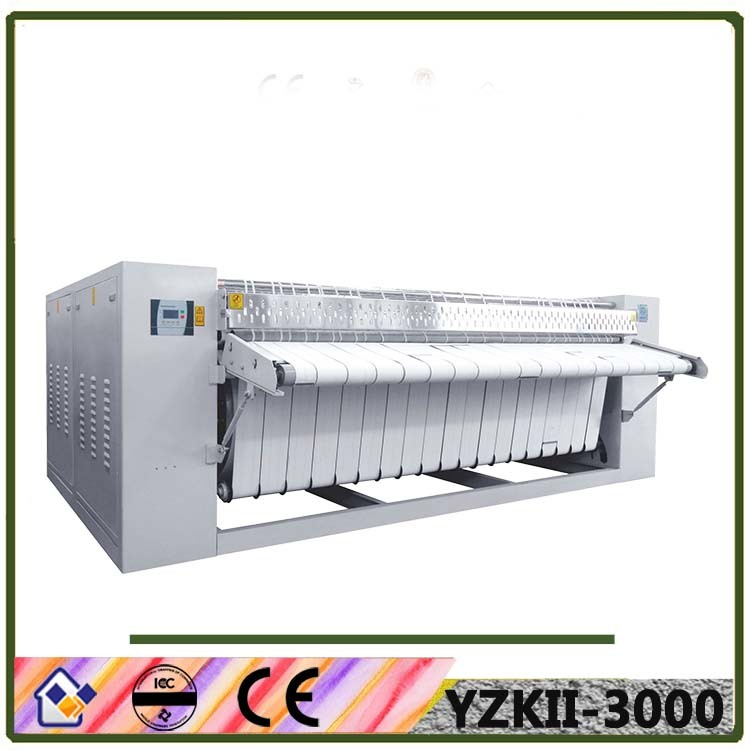 Roller style flat ironer machine for turkey market