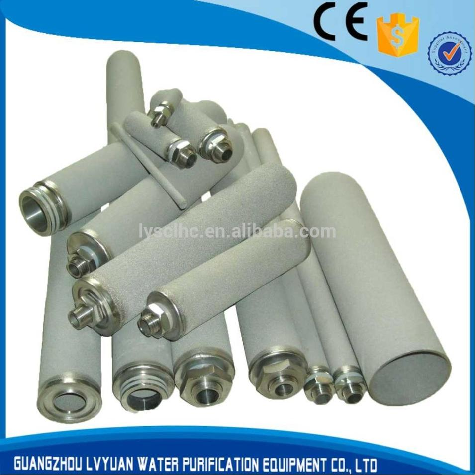 Sintered Titanium Rod Filter Cartridge with housing
