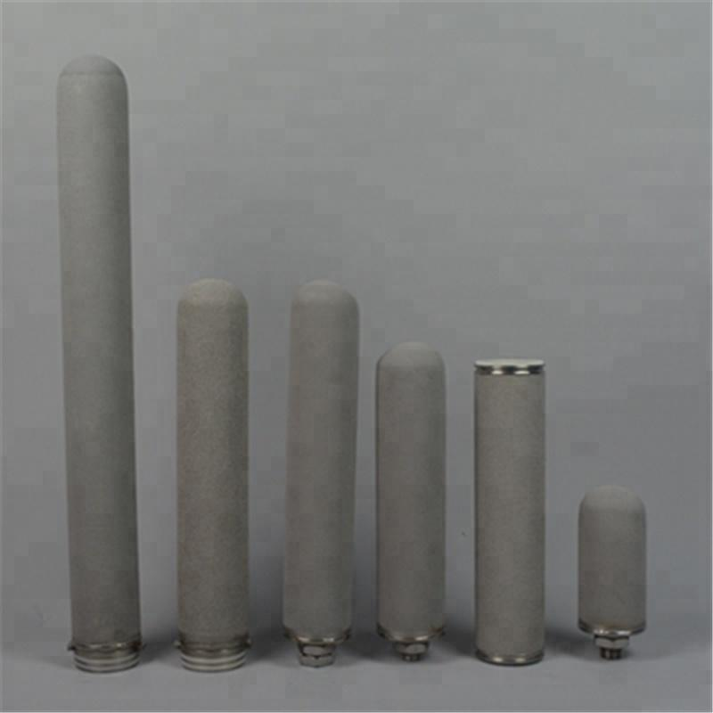 0.2 0.45 1 micron Titanium Filter Cartridge for water filter plant