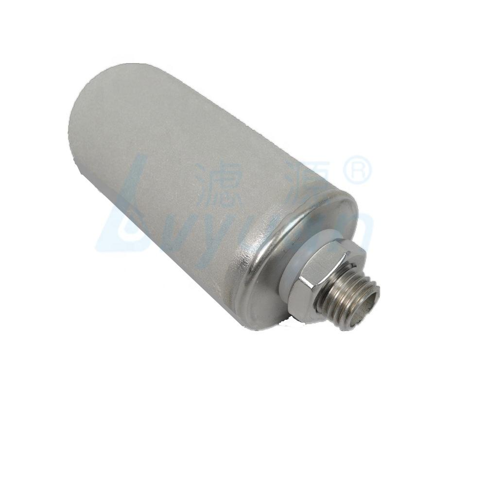 10 20 30 40 inch customized connector sintered titanium water filter cartridge for water filtration