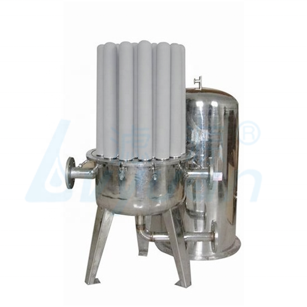 100 micron water filter porous titanium rod filter for water treatment industry
