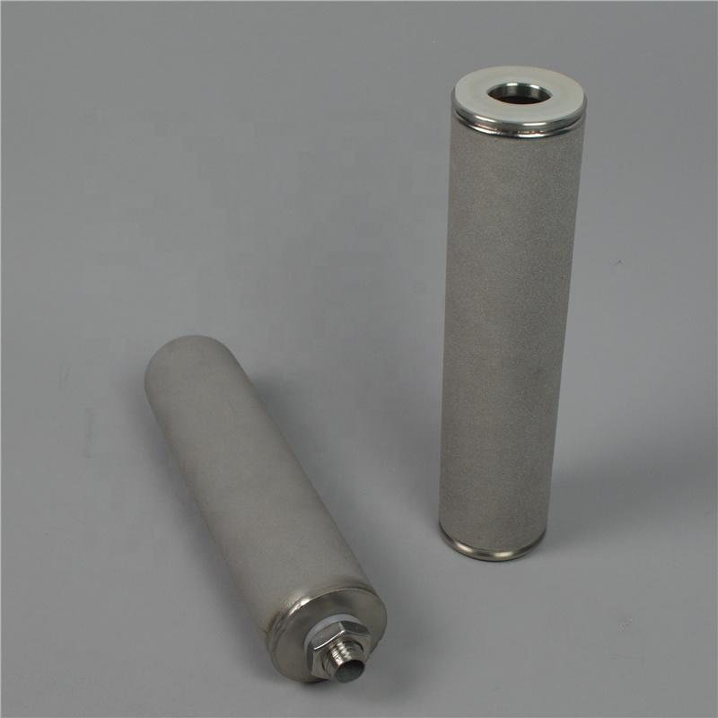 Sintered Porous Titanium filter Cartridge Candle for Water Treatment
