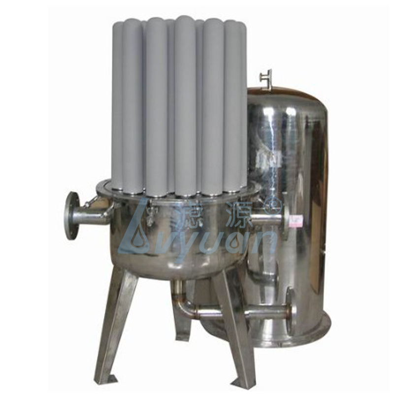 High porosity 1 micron titanium washable pre filter / 10 inch washable filter media