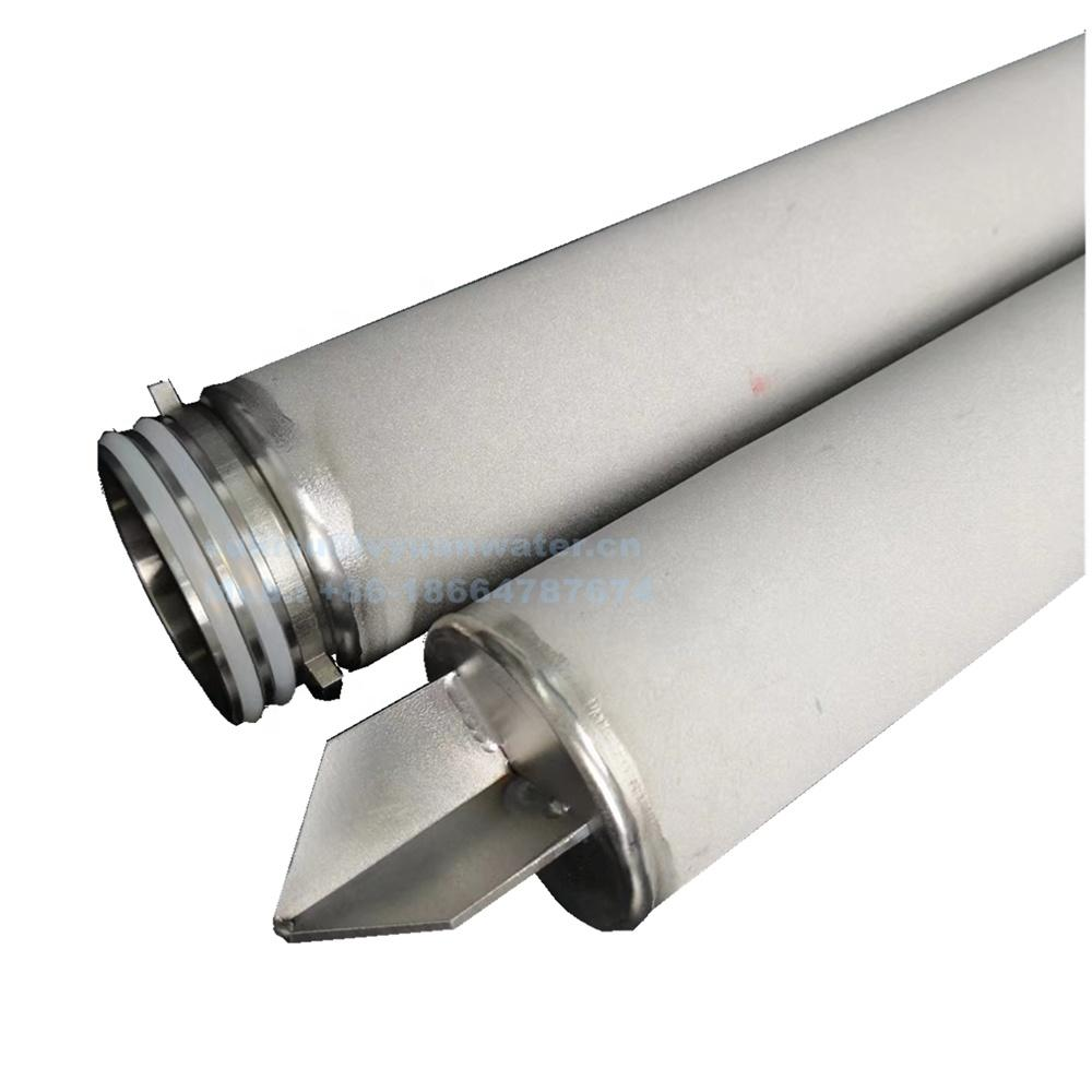 226/Fin code 7 adaptor Sinter titanium Rod filter cartridge for Ti Filter Candle Element