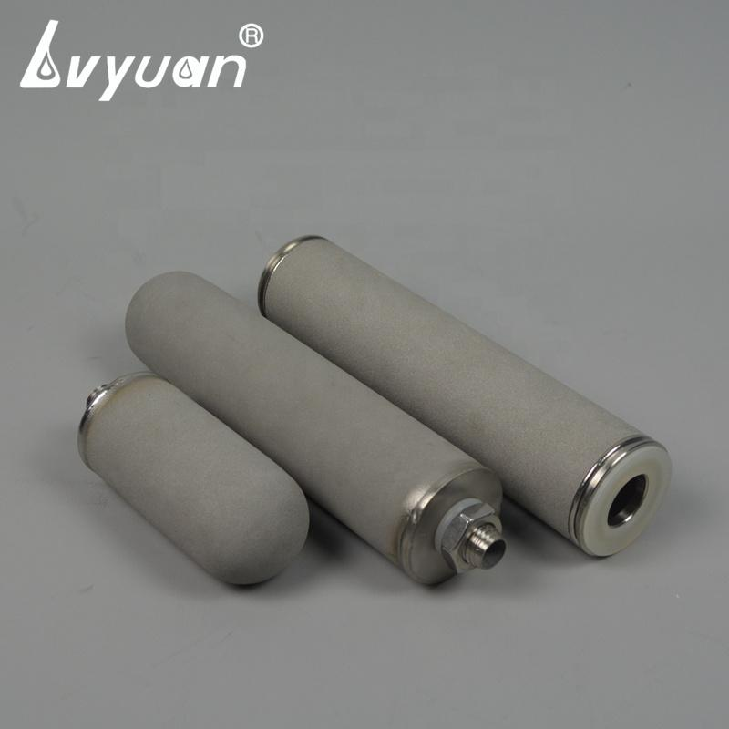 1 micron titanium porous sinter metal powder filter for stainless steel filter housing