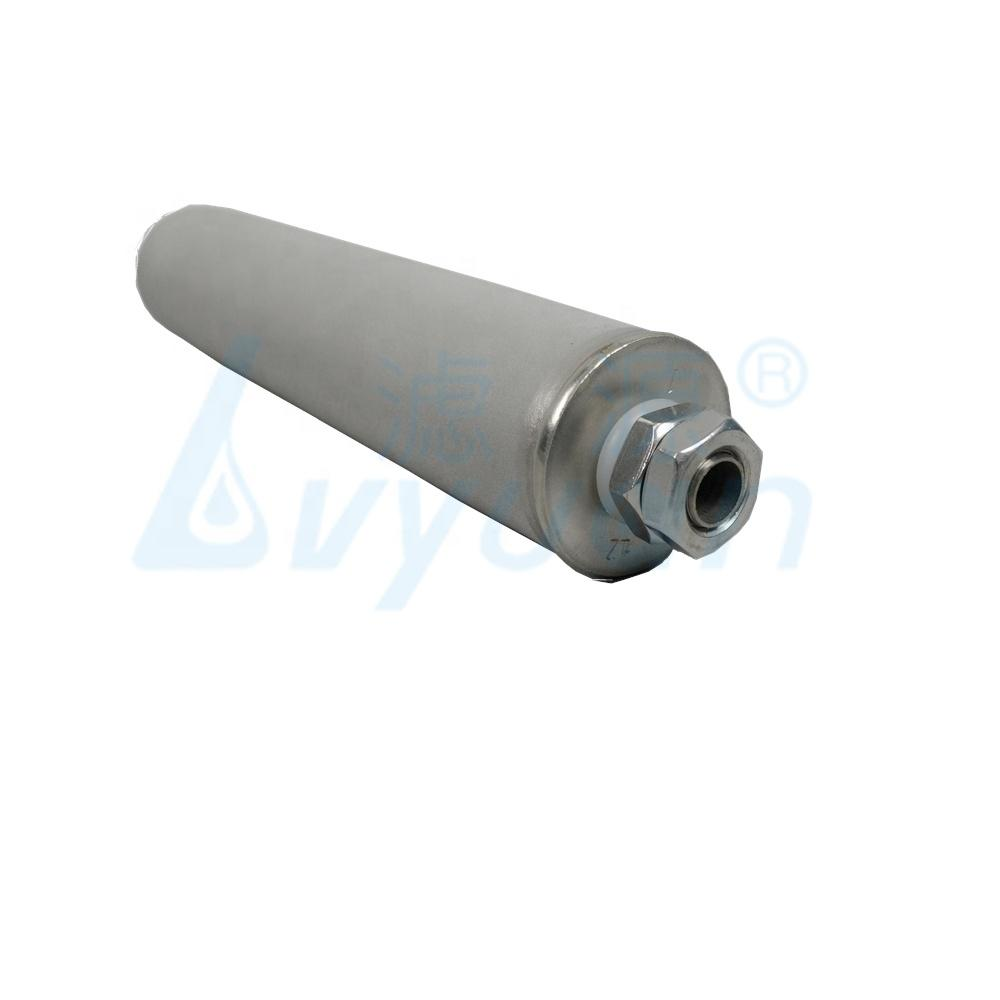 10 20 30 40 inch Industrial Oil Filtration metal water filter/Titanium Rod Filter for Water Treatment