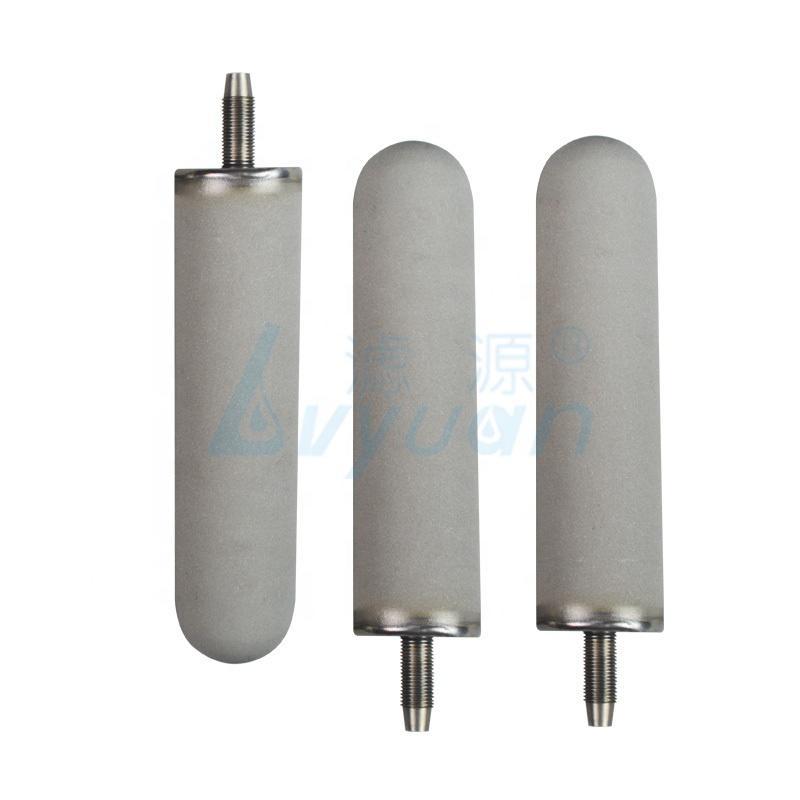 0.1 1 3 5 micron 10 20 30 40 inch Titanium powder sintered water filter cartridges