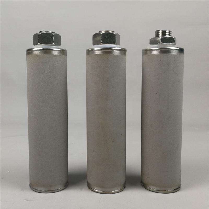 Screw Filter Micron porous Ti Titanium and stainless steel 316 filter cartridge