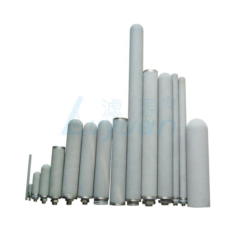 0.2 0.45 1 5 10 um titanium sintered porous metal filter tube /titanium filter element for water filtration