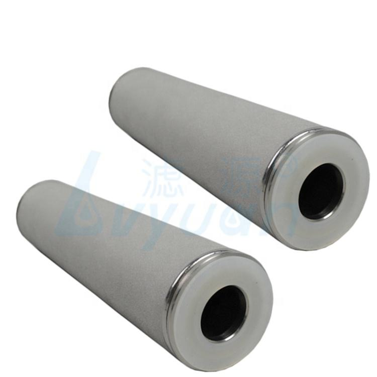 5'' 10 20 30 40 inch porous titanium filter /sintered titanium rod water filter cartridge for filtration