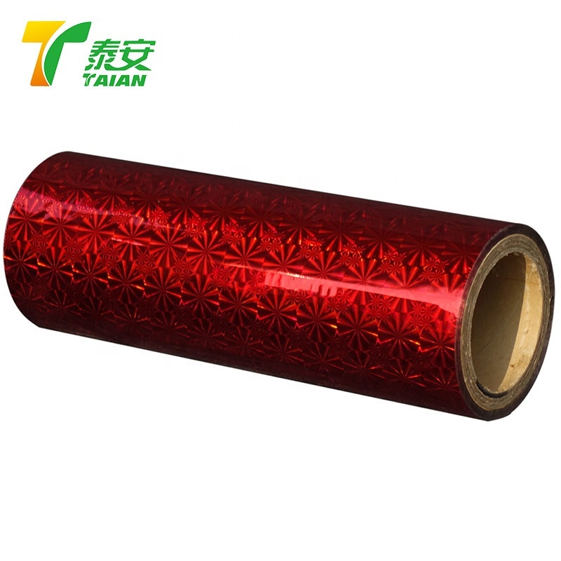 Hot Corona Treatment Transparent 3D Thermal lamination Film for posters
