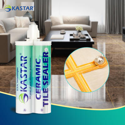 Easy Maintenance Double-Component Waterproof Blacken Proof Tile Grout Adhesive For House Renovation