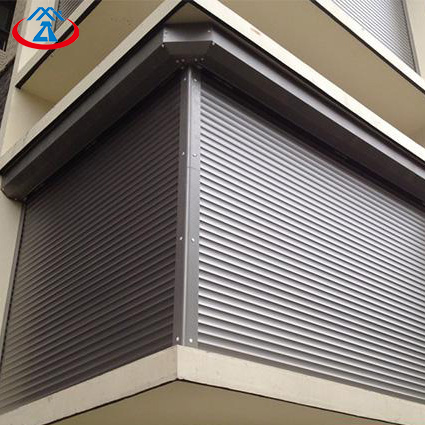 Electric Security Motorized Aluminum Roller Shutter Window