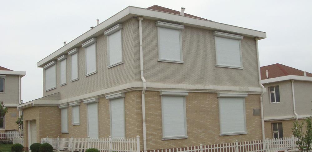 Hot Sales Heat Preservation and Energy Saving Aluminum RollingShutter Window