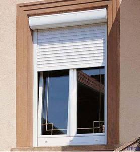 Manual Rolling Up Window Electric Operation Aluminum Roller Shutter Window
