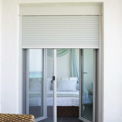 High Quality Electric Security Motorized Aluminum Roller Shutter Window