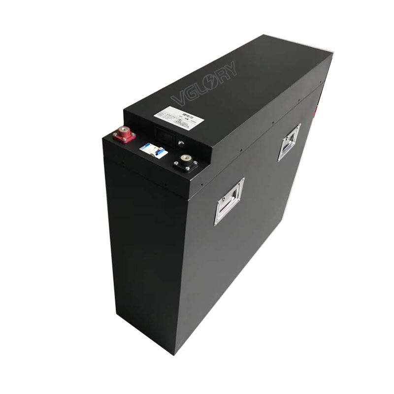 IEC standard compacted 48 volt lithium ion battery pack 48v