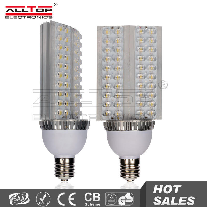 30w 36w 40w high quality high power outdoor e40 led corn street light