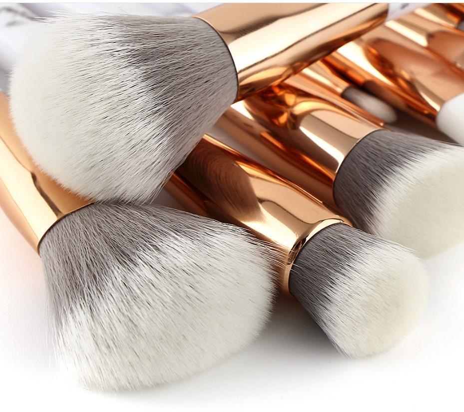 Luxury mini foundation brushes set single kabuki synthetic hair foundation makeup brush