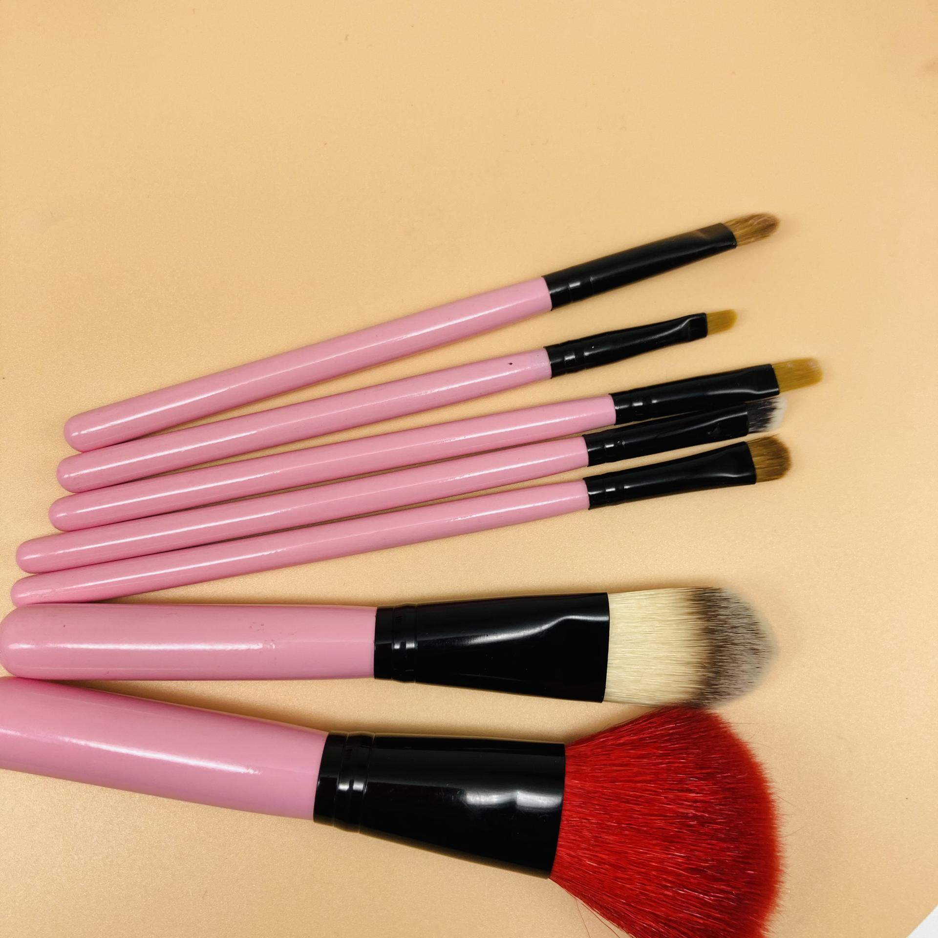 Professional Cosmetics Makeup BrushesHigh Quality Goat Hair A class Pony Hair colorful makeup brush set wholesale