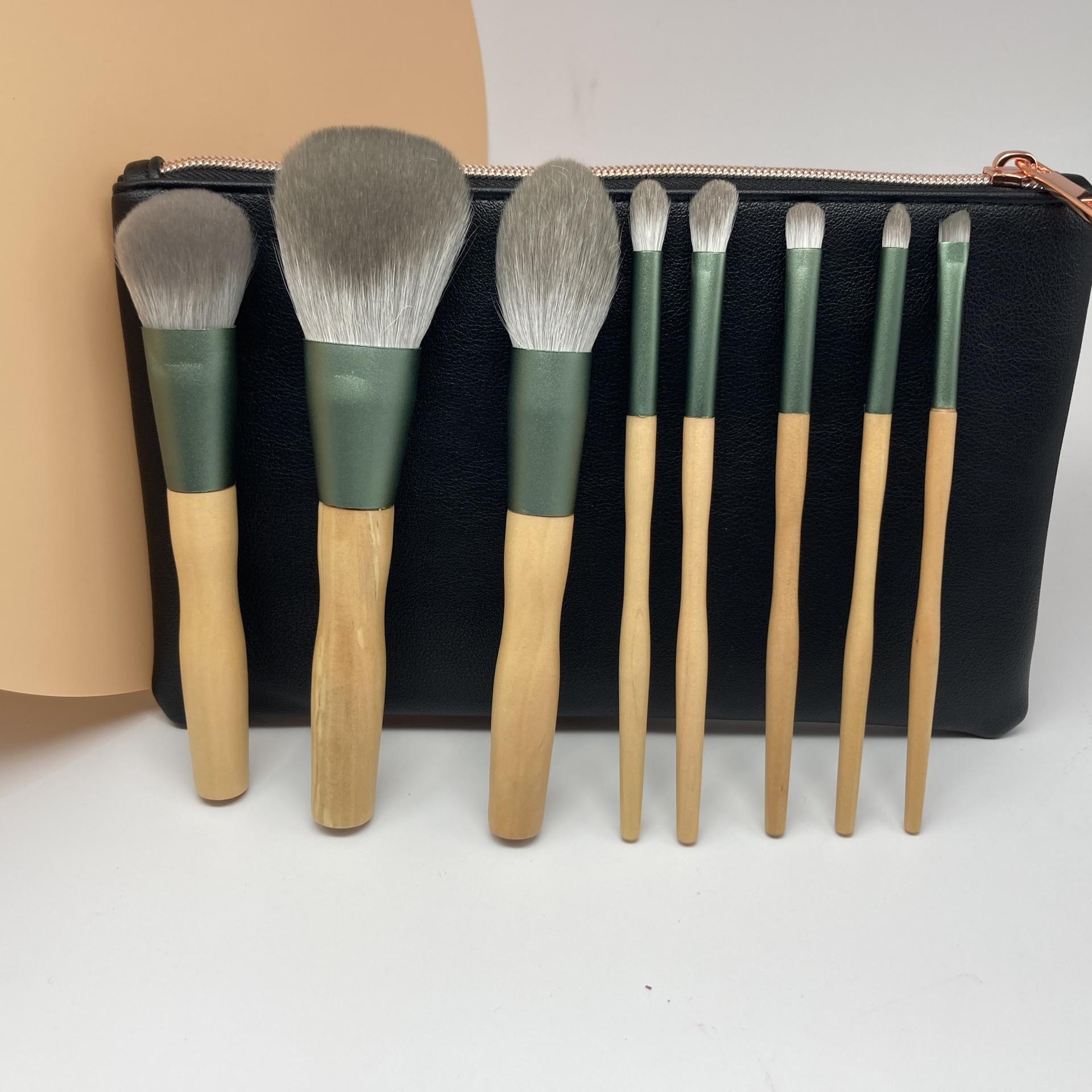 Soft vegan makeup brushes private label make up cosmetics brushes