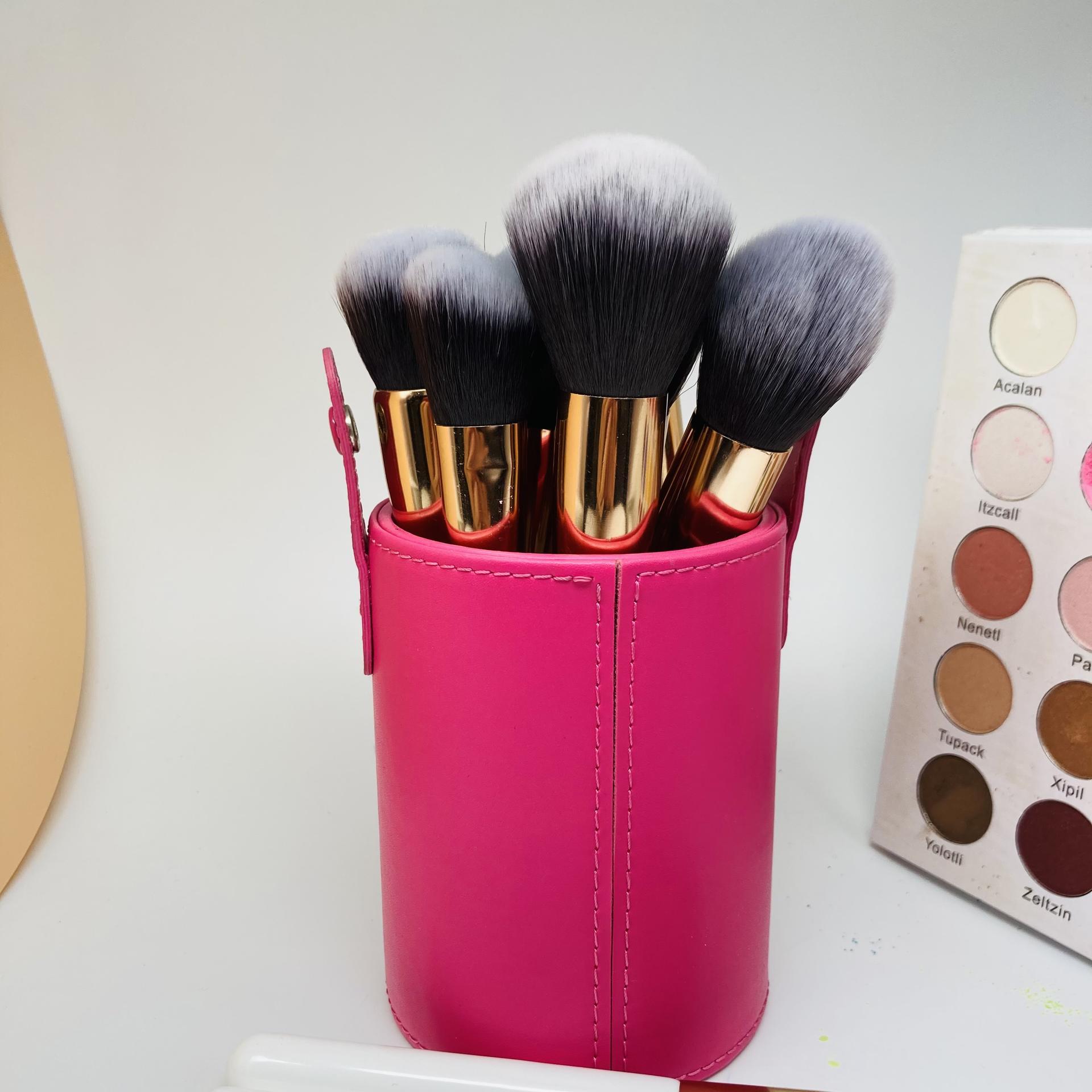 Synthetic makeup brush set Mermaid custom logo private label makeup brush set