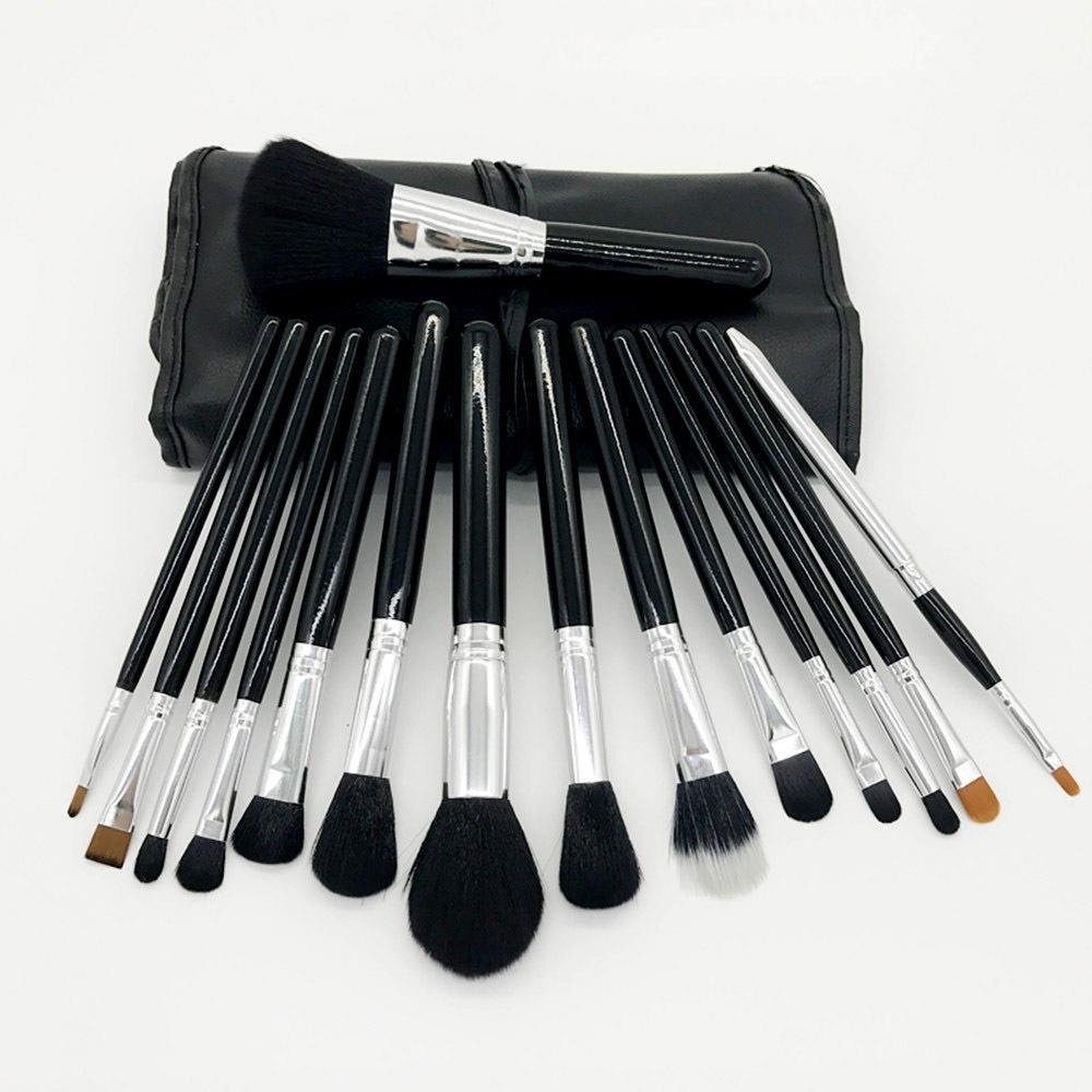 32 Pc Private Label Blending Travel Custom Make Up Makeup Brush Set With Bag