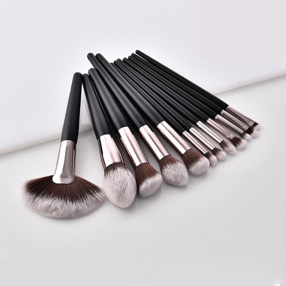 12pcs Foundation Makeup Cosmetic Personalized Set 7pcs Bristle Custom Brush Make Up