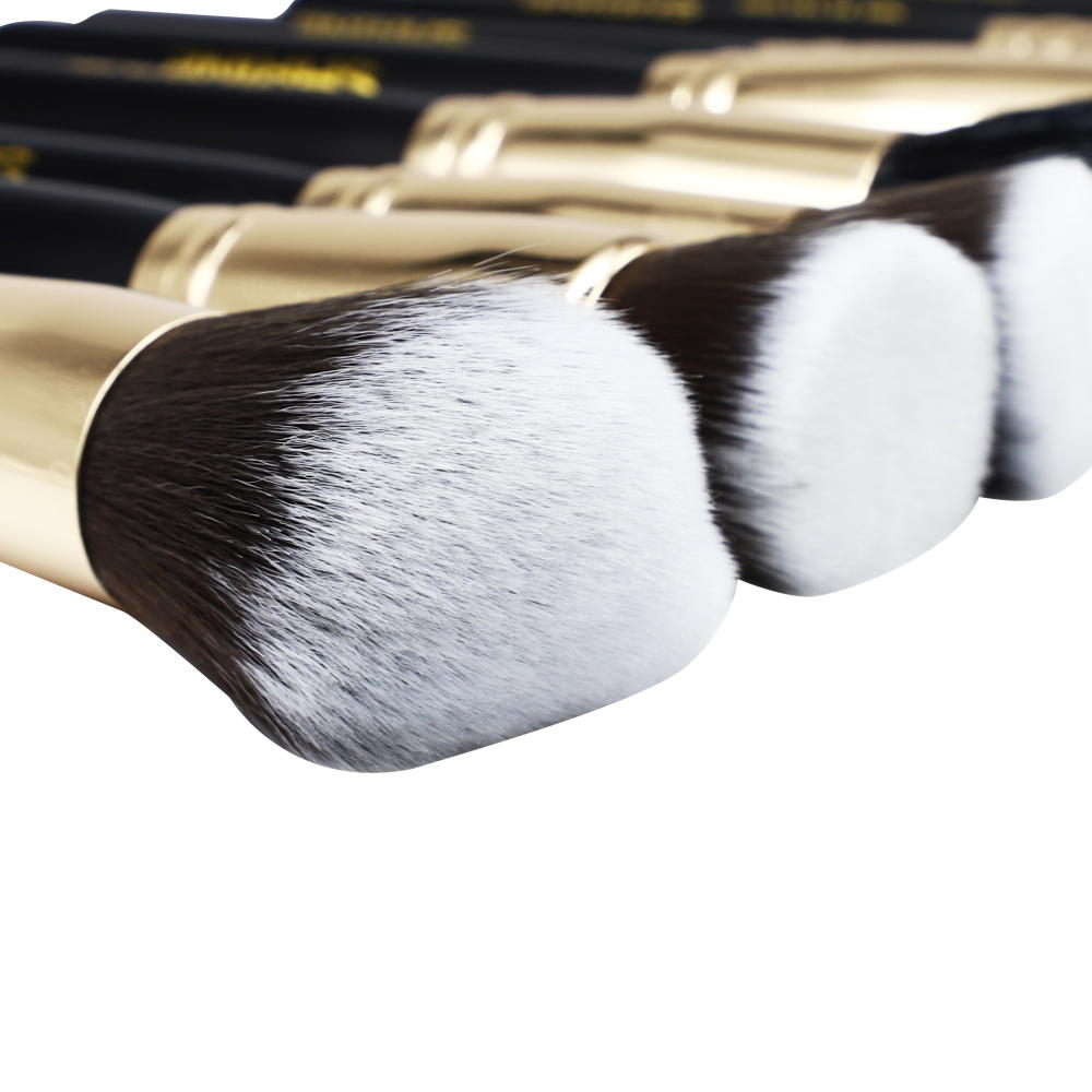30pcs Beauty makeup tool brush set black brochas maquillaje private label foundation powder concealer contour brush