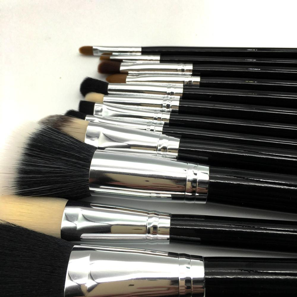 2019 Hot Sale 12pcs Classic Custom Logo Professional Wholesale Private label Makeup Brush Set