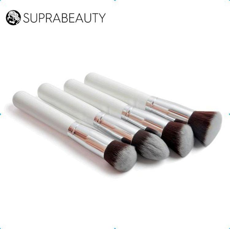 Suprabeauty cruelty free round makeup brush flat foundation brush set