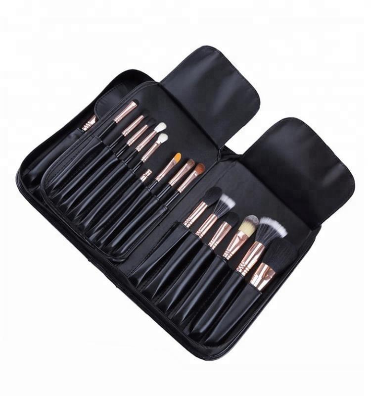 Kit Eyelash Cosmetic Wood Hello Kitty Set 15pcs Makeup Brush Organizer