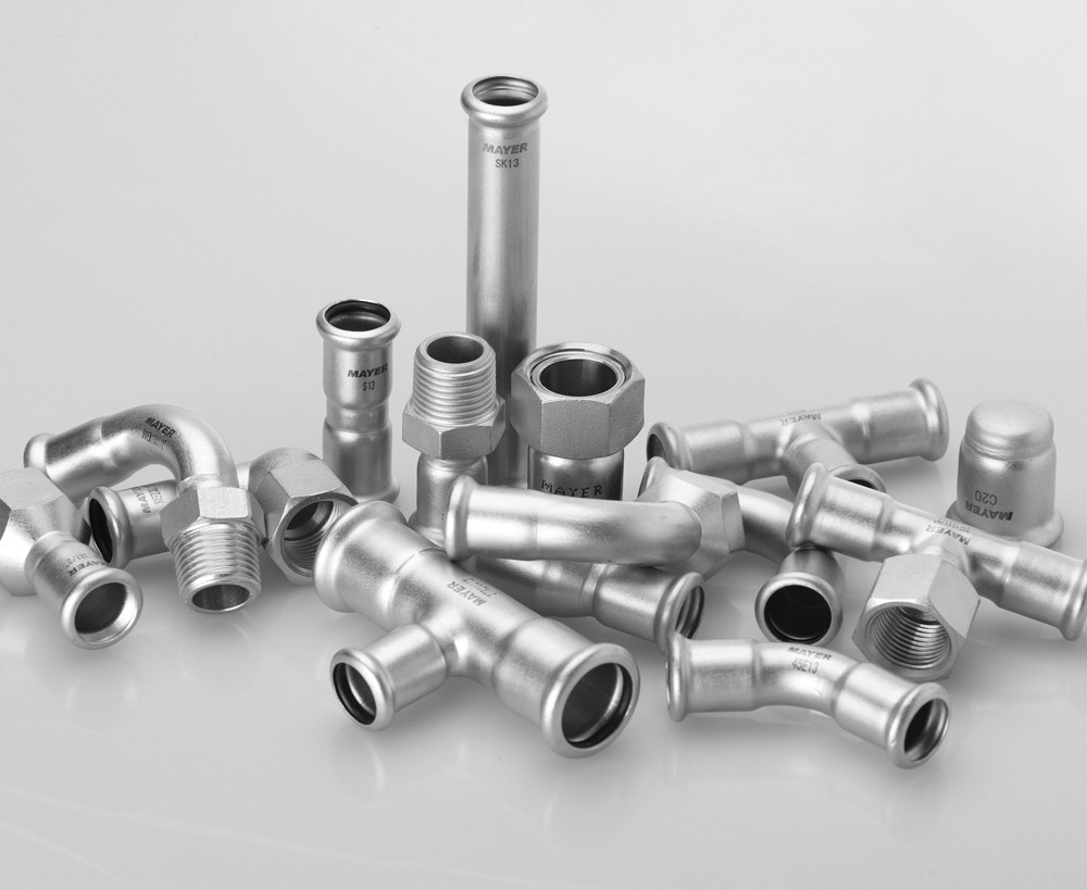 SS Press Fitting, Coupling, Bending, Tee, solar water heater pipe joint
