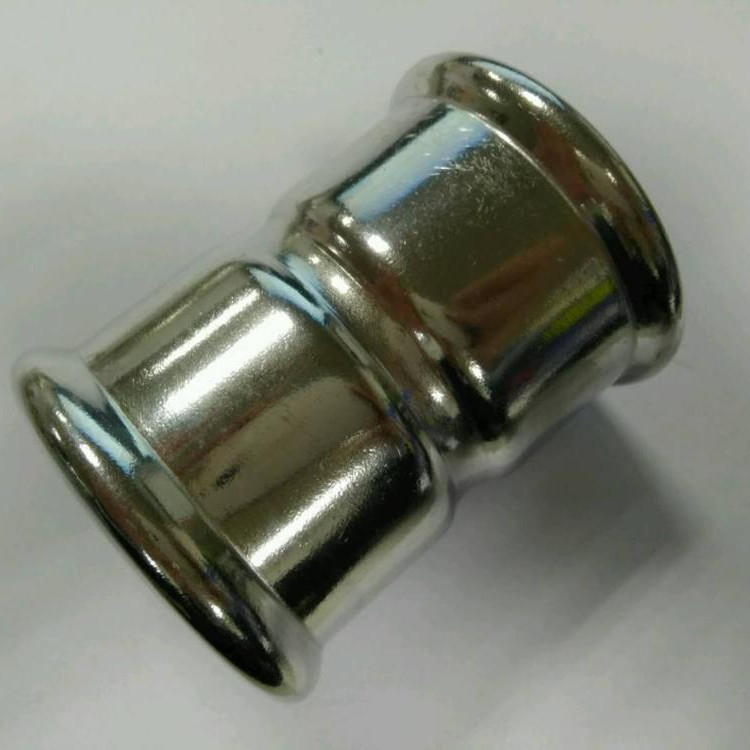 304 or 316L Stainless Sanitary Fitting Coupling M Profile