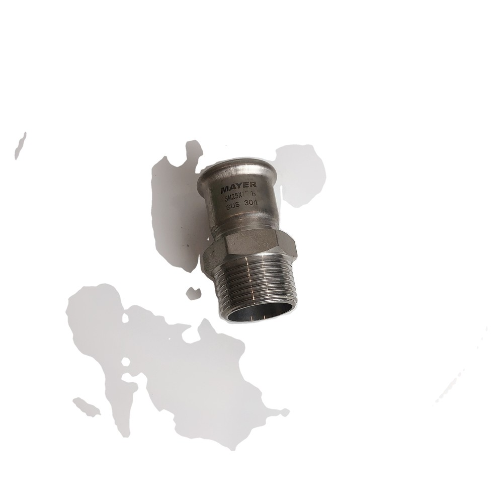 304/316L stainless steel fittingmale thread coupling male adaptor