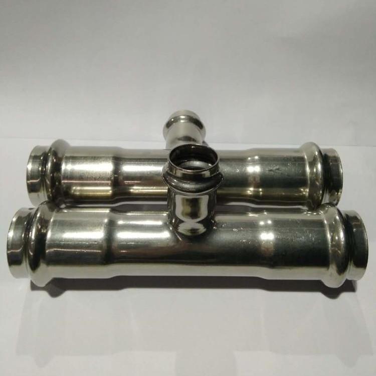 Stainless Steel 3 waysReducing Tee M Profile