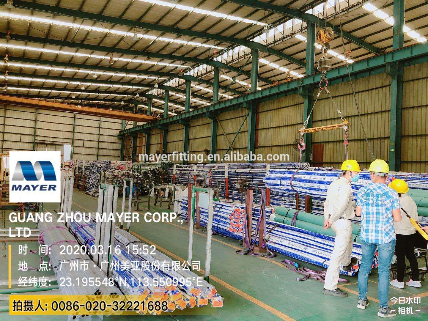 304/316L stainless steel press elbow fitting application on pipe connection M profile