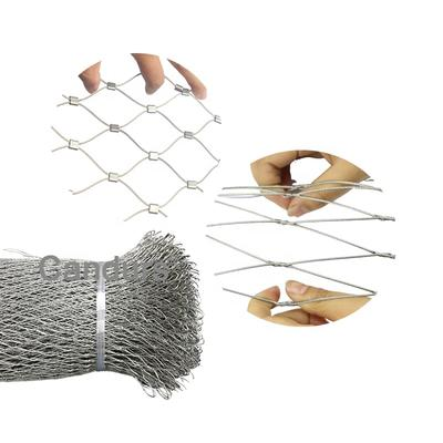 Easily Install Design 316 Wire Rope Flexible X Tend Stainless Steel Cable Mesh