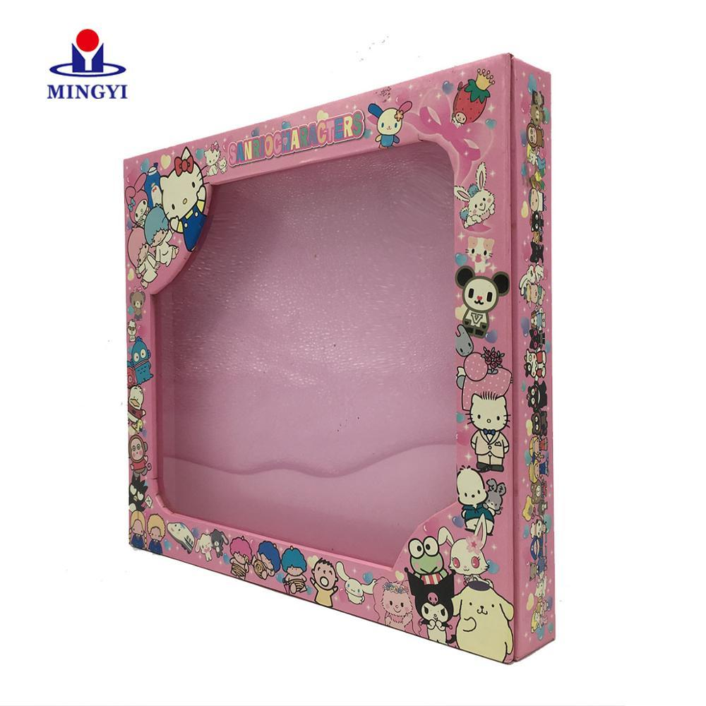 Kraft Paper Gift Flower Drawer Suitcase with Handle Brown Boxes Jewelry Shipping Pink Luxury Cardboard Packing Box