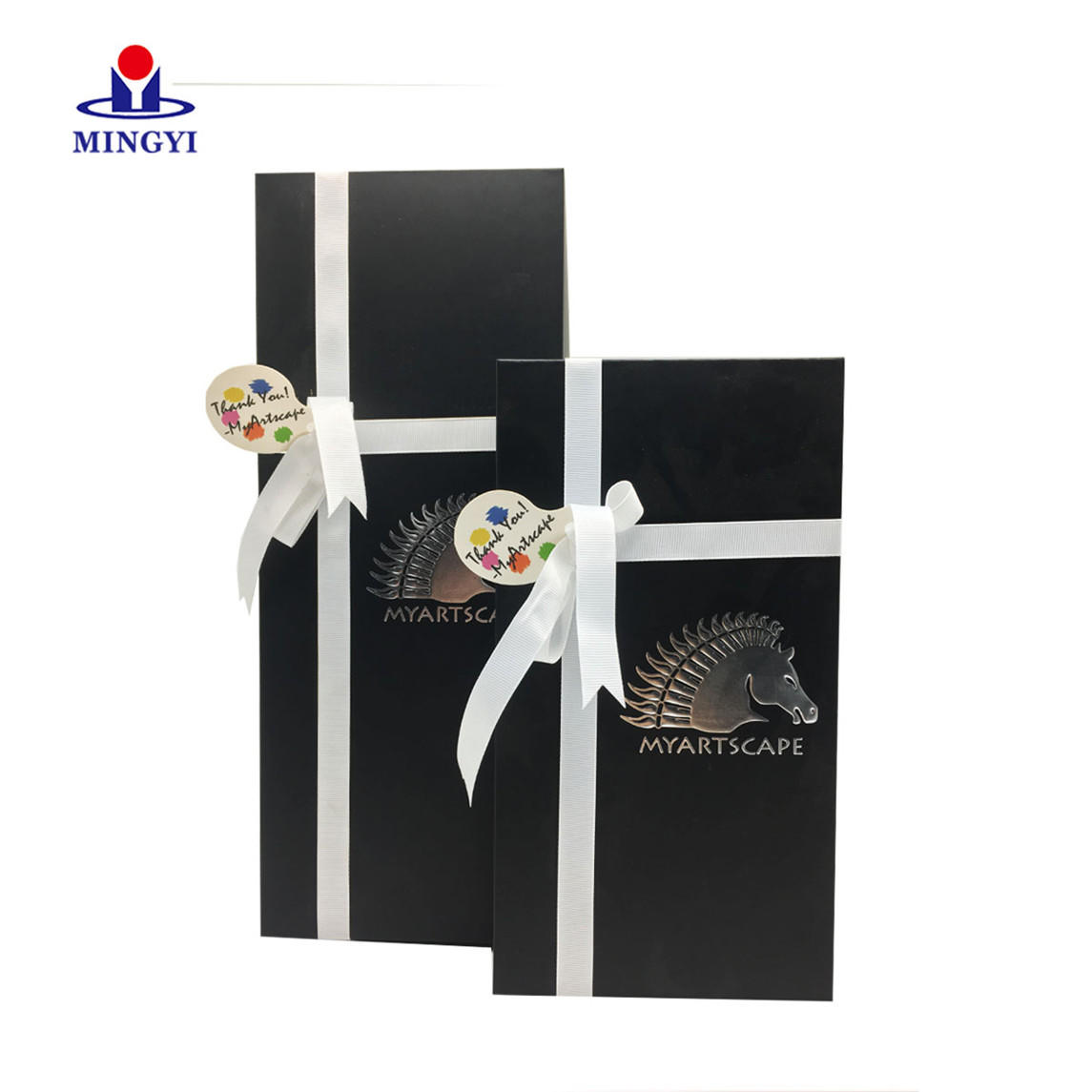 Mooncake Rigid Paper Cardboard with Ribbon Mobile Phone Case candle gift box Mini Toy Suitcase Most Popular Gift Box
