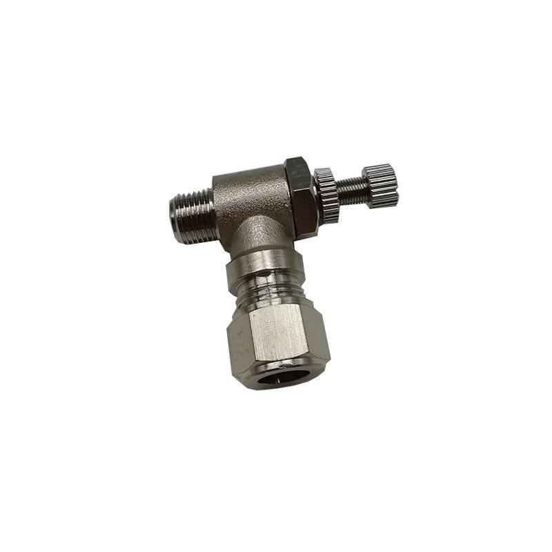 Unidirectional speed regulating valveTKT-SL8-01Thread 1/8compressionfitting