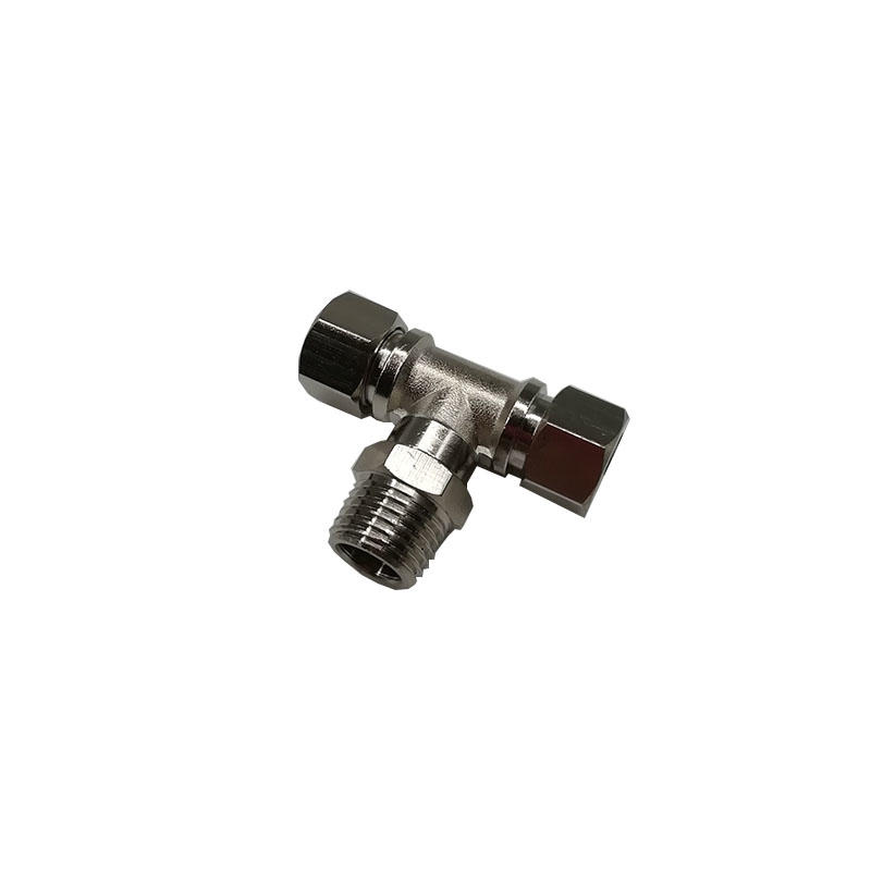 Gas pipeNitrogen connection TKT-PB8-02Middle threaded jointcompressionfitting