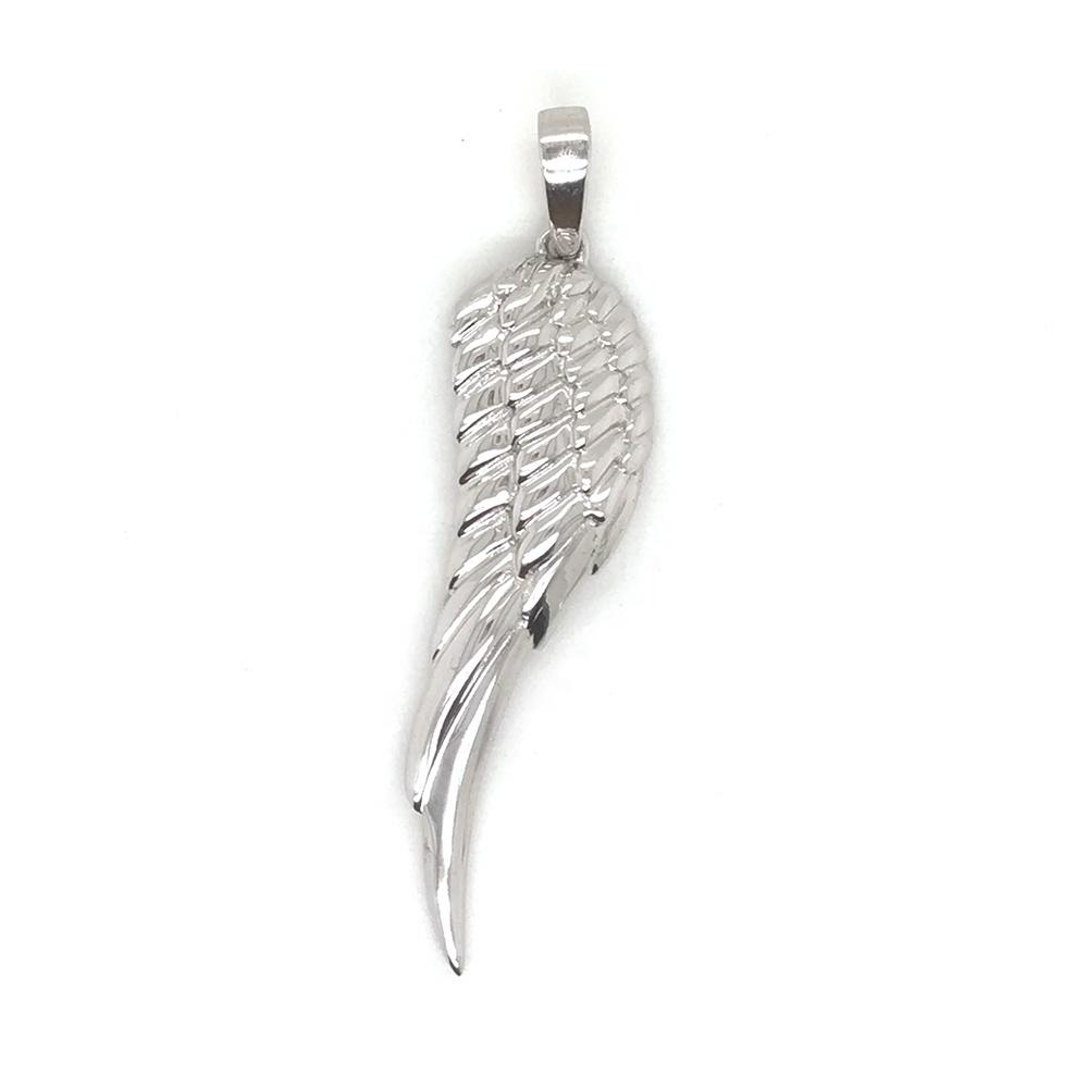 Christmas Wholesale Angel Sterling Silver Wing Pendant