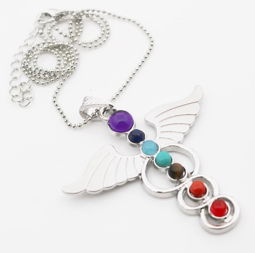 Wing design cz silver dubai imitation jewelry necklace made in hongkong