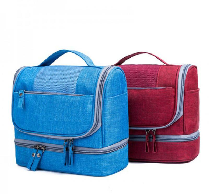 New Waterproof Men Hanging Makeup Bag Oxford Travel Organizer Cosmetic Bag for Women Necessaries Make Up Case Wash Toiletry Bag